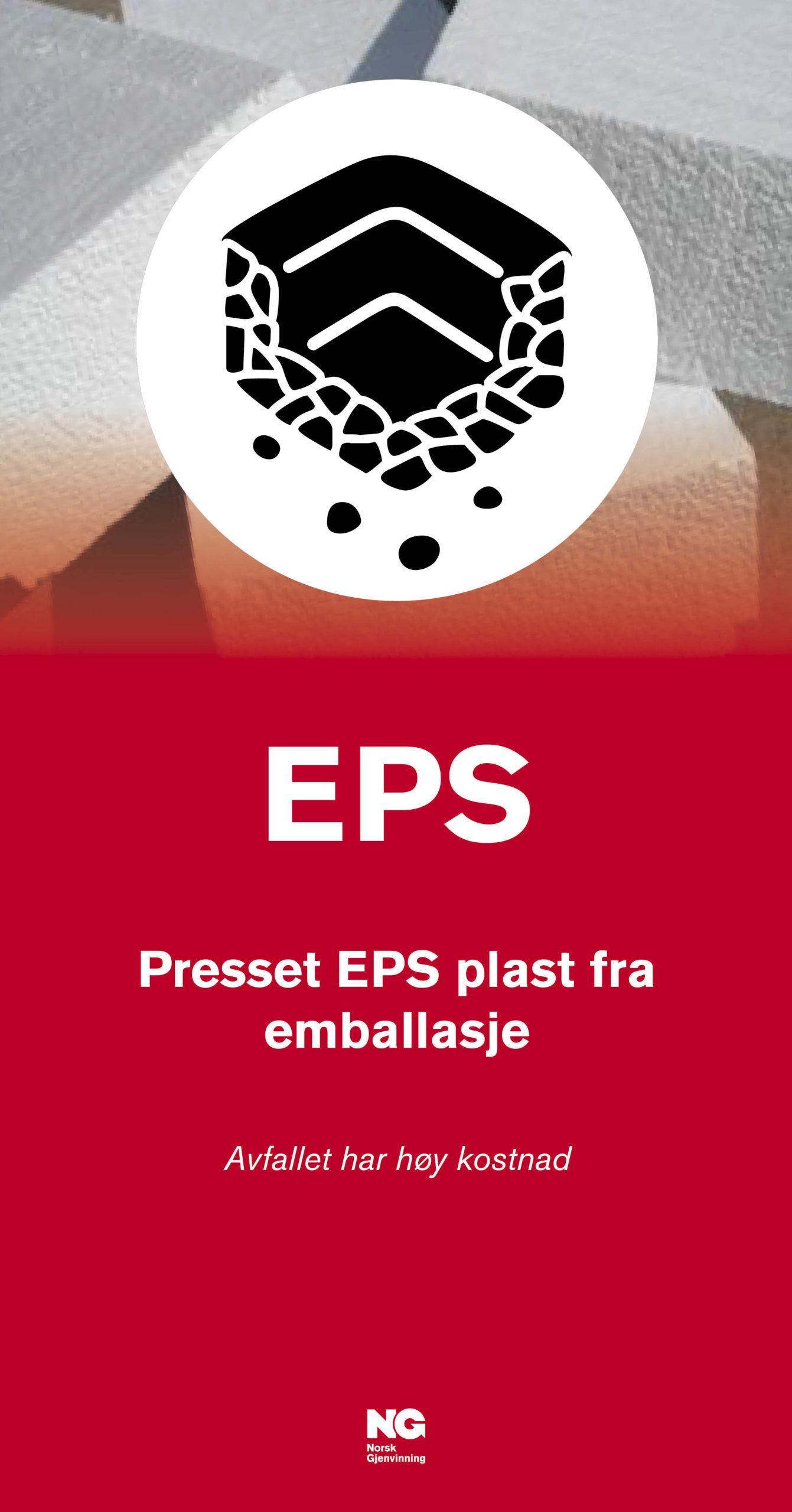 EPS Veggskilt 22x42 cm